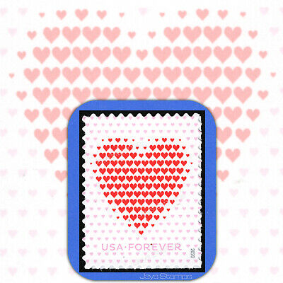 2020  MADE OF HEARTS  Love Series  USPS Forever® MINT Individual Stamp  # 5431