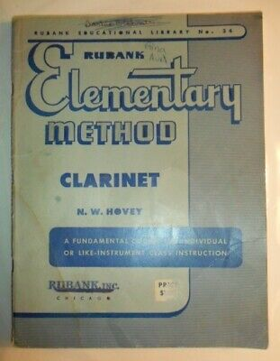 Rubank Elementary Method Clarinet, Paperback by N.E. Hovey
