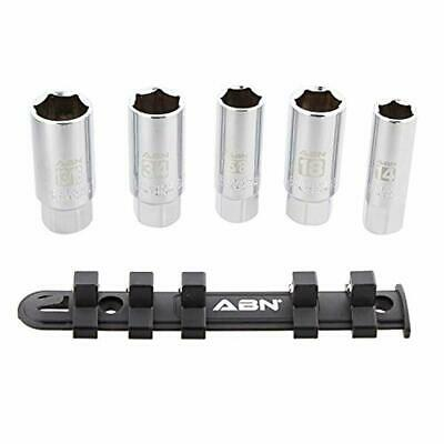 ABN 3//8-Inch Drive x 5//8-Inch Magnetic Swivel Spark Plug Socket Extension Tool