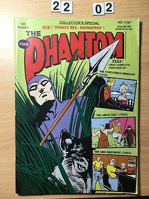 Frew Phantom Comic # 1167 From 1997. 100 Pages Special. 4 x Stories.  VG
