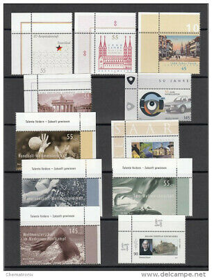 Alemania / Germany - Lot of 47 stamps - ** MNH - Year 2007