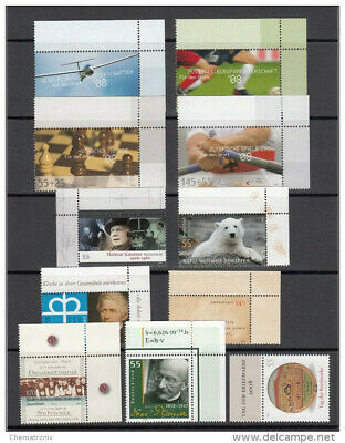 Alemania / Germany - Lot of 59 stamps - ** MNH - Year 2008