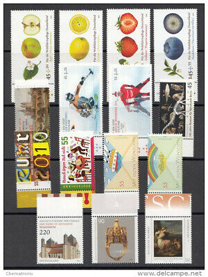 Alemania / Germany - Lot of 20 stamps - ** MNH - Year 2010