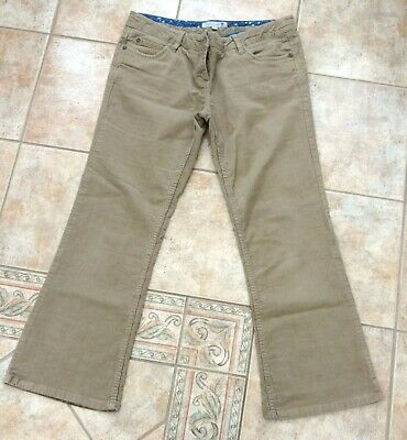 'Fat Face' Ladies corded trousers Size 14 small