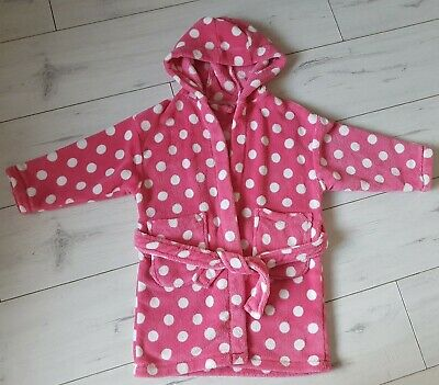 Next Girls Dressing Gown Robe 3-4 Years