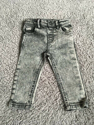 River Island Mini Baby Boys Jeans Age 6-9 Months