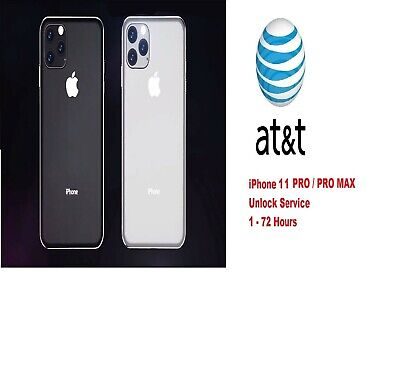 iPhone 11 PRO - PRO MAX AT&T FACTORY UNLOCK CODE SERVICE - CLEAN IMEI FAST