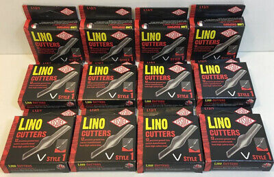 Essdee Lino Cutter Style No. 1 art craft  joblot 12 boxes of 12  made in England