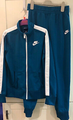 Girls turquoise Nike Tracksuit Age 12-13 Years
