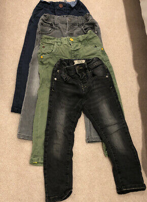 Next Boys Bundle Of Jeans And Trousers Size 2-3 Years 4 Pairs