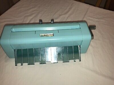 "ZUTTER 'DreamKuts' Self-sharpening 12"" Paper Craft Cutter/Trimmer in Turquoise"