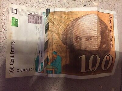 100 Franc Note