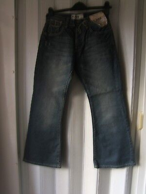 BNWT Youths/boys Jeans by FLARE Topman Vintage Denim W26 L28