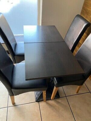 Restaurant/cafe tables and chairs Job Lot