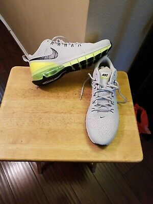 NIKE AIR MAX Tr1 180 Flywire Mens Grayred Athletic Shoes