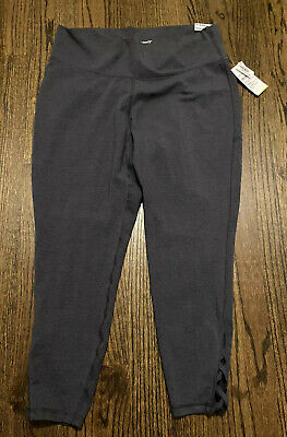 Womens Old Navy Go Dry Active 7/8 Ankle Pants Grey Color Size XXL NWT