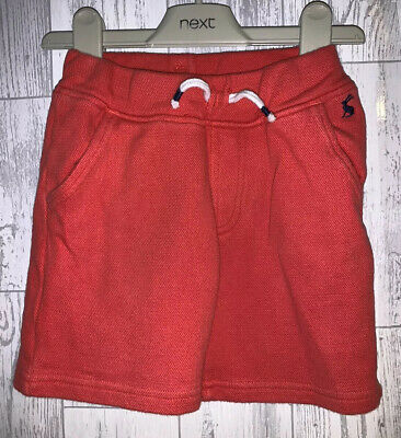 Boys Age 4 (3-4 Years) Joules Red Shorts