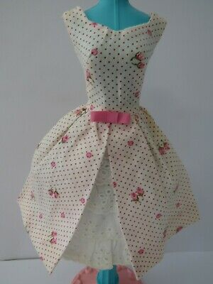 Vintage Barbie 1962 Garden Party Tagged Dress #931