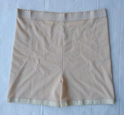 High Waist Long Leg 6X Nude Instant Shaping by Plusform Non roll waistband