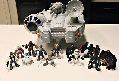 Playskool Heroes Star Wars Galactic Heroes Millennium Falcon with Figures