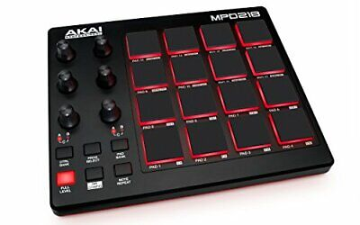 Akai Professional USB MIDI controller 16 pad sound source software