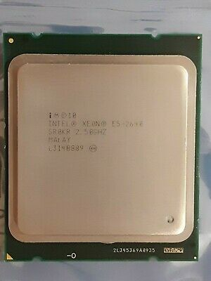 Intel Xeon E5-2640 CPU Processor, Tested Working, Used, CPU Only