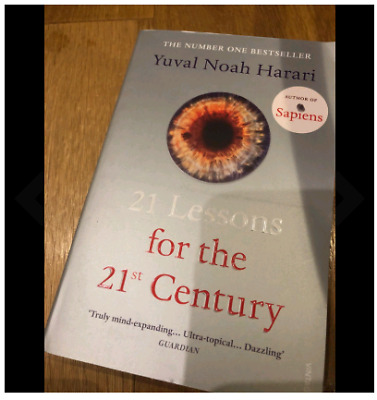 21 Lessons for the 21st Century by Yuval Noah Harari Paperback 2019 1784708283