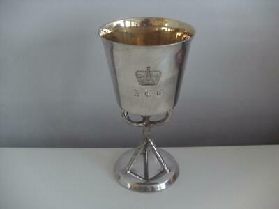 Sterling Silver Goblet Cup Birmingham 1972 327.4g
