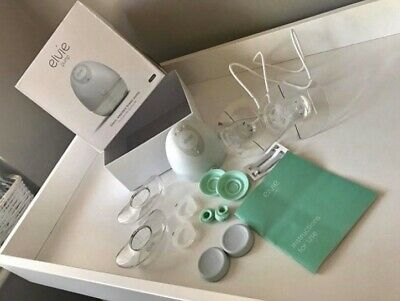 Elvie Breast Pump - Single Silent Wearable Breast Pump - Used A Handful Of Times