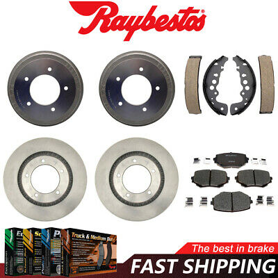 Shoes For 1999 Grand Vitara Disc Brake Rotors Ceramic Pads /& Brake Drums