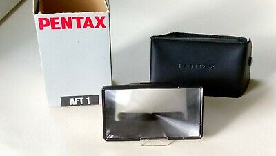 Pentax AFT1 135mmTele Adaptor with Original Case. Boxed. Used.
