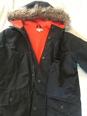 Boys Black Winter Coat Age 8-9 Years Blue zoo - Debenhams
