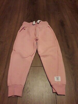 girls pink tracksuit bottoms age 4 years from next