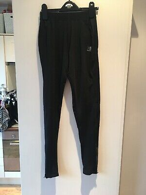 Karrimor Black Running Jogging Tight Leggings Bottoms Size 8 Full Length New