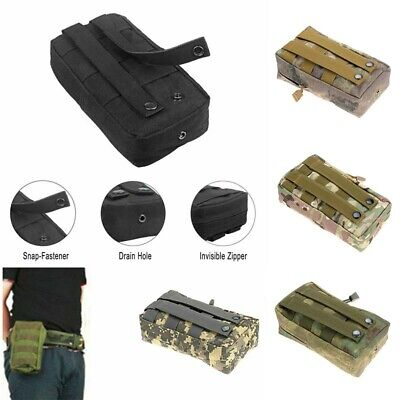 Tactical Molle Outdoor Military Pouch  Waist Belt Bag Utility Pocket Accessory