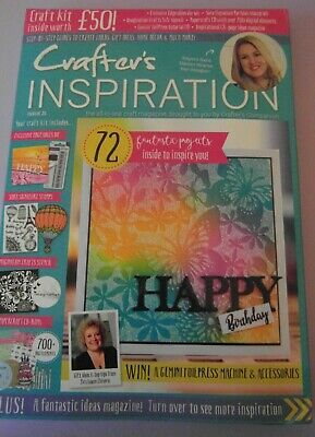 Crafters Companion Inspiration Magazine issue 21 with Craft kit new and sealed