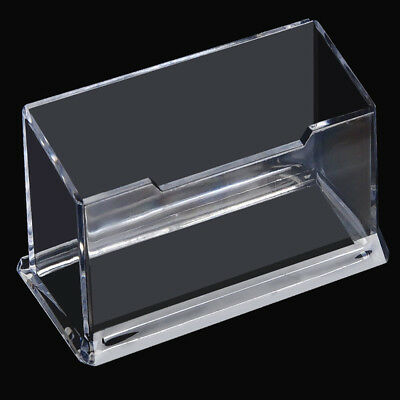 20PCS Business Card Holder Plastic Display Stand OZ
