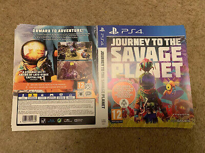 Ps4 Journey To The Savage Planet Display Case Poster X2
