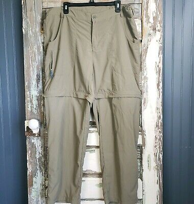 White Sierra Womens Size 2X Convertible Pants Outdoor / Hiking / Camping