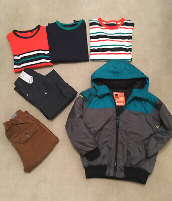 Next Boys Age 9-10 Bundle Coat Jeans Tops Mostly New Without Tags