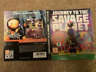 Xbox One Journey To The Savage Planet Display Case Insert X2