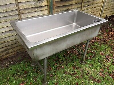 Stainless Steel Commercial / Industrial Heavy Duty Trough Sink