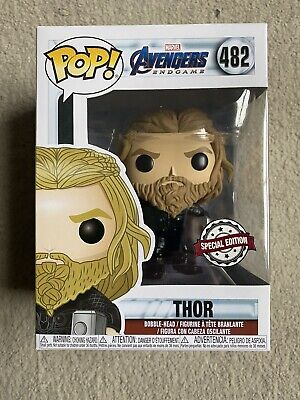 Thor Special Edition Funko Pop Vinyl Rare Avengers End Game BNIB