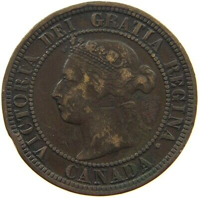 CANADA LARGE CENT 1882 H #s8 037