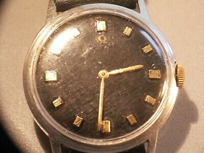 Omega man's watch,, works, nice order, cal 510, stainless steel case
