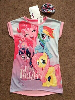 BNWT Matalan My Little Pony Nightie Night Dress Pjs Pyjamas Age 4 Years