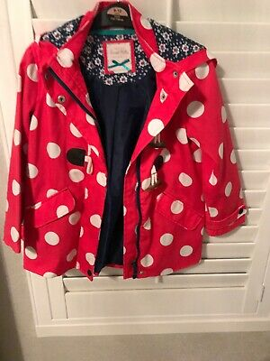 Sweet Millie Polkadot Raincoat Age 7 Years