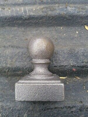 Round Stair Parts Baluster Metal post cap FAST DELIVERY Wrought Railing Large