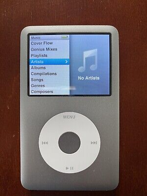 Apple iPod classic 7th Gen. Silver (160 GB) and a Sherwood Docking Station DS-10