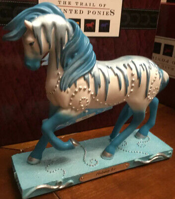 HOLIDAY ICE, Trail Of Painted Ponies, 1E 2397 NEW Resin Figurine, Box, NO TAG.